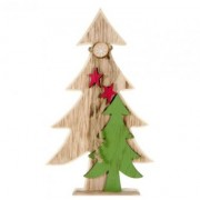 Decoratiune din lemn, Braduti cu stele