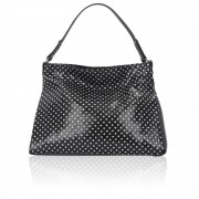 My Choice Borsa shopper in pelle manico regolabile
