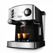 Еспресо машина за 1 или 2 кафета Zephyr ZP 1171 F, 850 W, 15 бара, Крема диск, Разпенване, помпа ULKA, Инокс