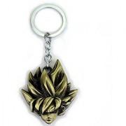 Goku Head Metal Thick Key Chain Superhero Dragon Ball Z Keychain