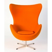 Replica Egg Chair-Orange