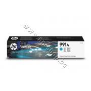Мастило HP 991A, Cyan, p/n M0J74AE - Оригинален HP консуматив - касета с мастило