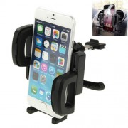 360 Degrees Rotating Air Vent Car Holder Mount for iPhone 6 / Smartphone Clip Size: 55mm-112mm