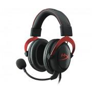 HEADPHONES, Kingston HyperX Cloud II, Microphone, Gaming, Red (KHX-HSCP-RD)