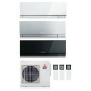 Mitsubishi Electric Kirigamine Zen Kit Trial Mxz-3e68va + 2 X Msz-Ef25ve2-W/s/b + Msz-Ef42ve2-W/s/b Inv. 9+9+15
