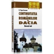 Continuitatea romanilor in Dacia - G. Popa-Lisseanu