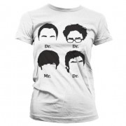 Big Bang Theory Prefix Heads Girly T-Shirt