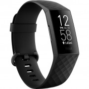Bratara fitness Fitbit Charge 4, HR, IP67, NFC, Black Aluminum Case, Black Band