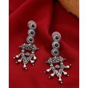 Voylla Nayantara Layered Circles Drop Earrings