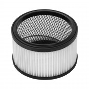 Round HEPA Vacuum Cleaner Filter - metal mesh - for wet dry vacuum cleaners