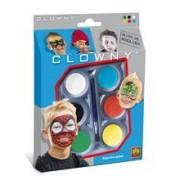 Ses Clowny - Set Pictura Pe Fata (6 Vopsele) - Super-Eroi