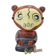 Gus Finks Skrap Bear Boogily Heads Series 3 Bobble Head Art Toy