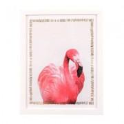 Lafinesse Bild mit Rahmen Flamingo