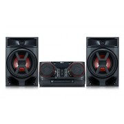 "LG CK43 Portable Stereo System 300 W Negro Radio CD (FM, 87.5-108 MHz, CD,CD-R,CD-RW, 300 W, 13.5 cm (5.3""), 4.06 cm (1.6""))"