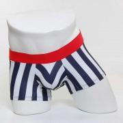 MIIW 7 Inch Tension Stripe Short Boxer Brief Underwear 2022-41