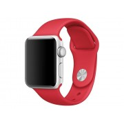 Curea silicon TECH-PROTECT Smoothband Apple Watch 1/2/3/4/5 (38/40mm) Red