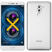 Huawei Honor 6X 3 GB RAM 32 GB ROM Android 6.0 Smartphone Doble Cámara - Plateado