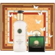 Amouage Epic lote de regalo II. eau de parfum 100 ml + leche corporal 300 ml