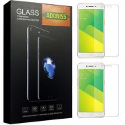 Adoniss 0.3mm Full Flexible Mobile Tempered Glass Protector (Pack of 2) for Oppo A71