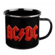 AC / DC Zománc Bögre - Logo - EMUGAC1