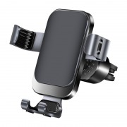 R7 Gravity Car Mount Air Vent Phone Holder for 4.7-6.5 inch Smartphones - Black