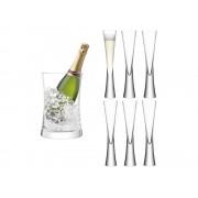 Champagneglas & Vinkylare LSA Moya – utan gravyr