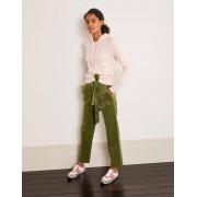 Boden Pantalon Chiswick en velours côtelé SAG Noël Boden, Green - 44 Petite