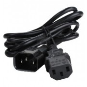 Power Cable 0.75X3 Male to Female 1M