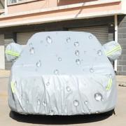Exterior Anti - Polvo Sunproof 3-compartment Universal Impermeable Cubierta Del Coche, Tamaño: 454.9cm X 172.5cm X 144.5cm, Plateado