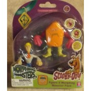 Scooby Doo Morphing Monsters Figure & Morphin Monster Pack Fred Figure