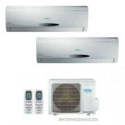 Condizionatore Dual Split Con Inverter Daitsu Ds-9uiee 9000+9000 Btu In A+