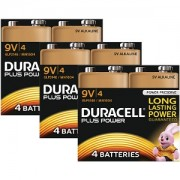Duracell Plus Power 9v Pack von 12 (MN1604-X12)