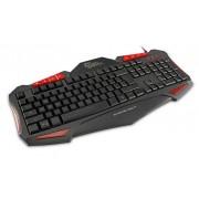 Tastiera Gaming Shogun USB Nero / Rosso GK-1621