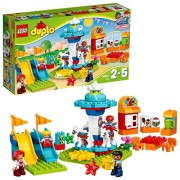 LEGO Duplo Town Fun Family Fair Building Blocks for Kids 2 to 5 Years (61 Pcs)10841