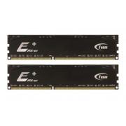 2 Go Barrettes de RAM Team Elite Plus Black DDR2 PC2-6400 800MHz (6-6-6-18) 2x1 Go