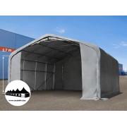 7x7x2,7m Wikinger raktársátor/ 550g/m2 PVC ponyva (Wikinger)