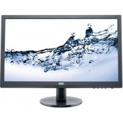 "Monitor TN LED AOC 24"" e2460Sh, Full HD, DVI-D, HDMI, 1ms, Boxe (Negru)"