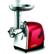 Masina de tocat SMT-1200RED, 1200 W, Accesoriu suc rosii, Rosu