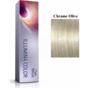 Wella Professionals Vopsea permanenta Wella Professionals Illumina Color Chrome Olive Blond Crom Masliniu 60ml