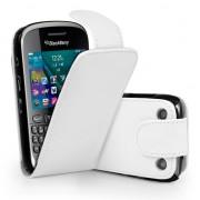 BlackBerry Curve 9320 Flip Калъф Бял + Протектор