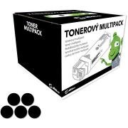Alza TN-3380 Multipack fekete, 5 db, Brother nyomtatókhoz