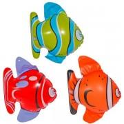 Opblaasbare tropische vissen 3 stuks
