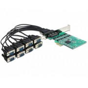 PCI Express -> 8 x Serial RS-232 High Speed