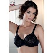 Aurélia csipkés melltartó, fekete