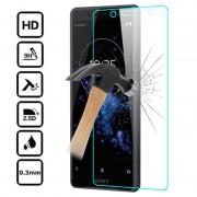 Protetor Ecrã em Vidro Temperado para Sony Xperia XZ2 Compact - Transparente