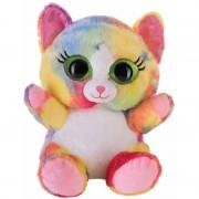 Bauer Speelgoed knuffel roze katje/poesje 20 cm