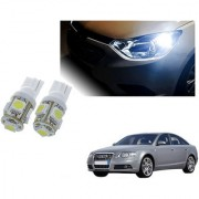 Auto Addict Car T10 5 SMD Headlight LED Bulb for Headlights Parking Light Number Plate Light Indicator Light For Audi A6