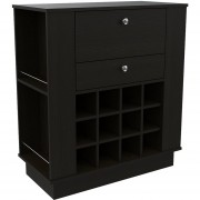 Mueble Bar TuHome New York 1 - Wengue Negro