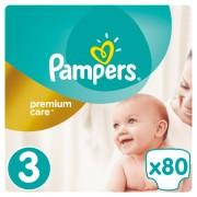 Pampers pelene Premium Care 3 Midi, 80 kom