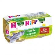 BIO + Hipp Bio Omogeneizzato Nasello Patate 2 Vasetti Da 80 Gr